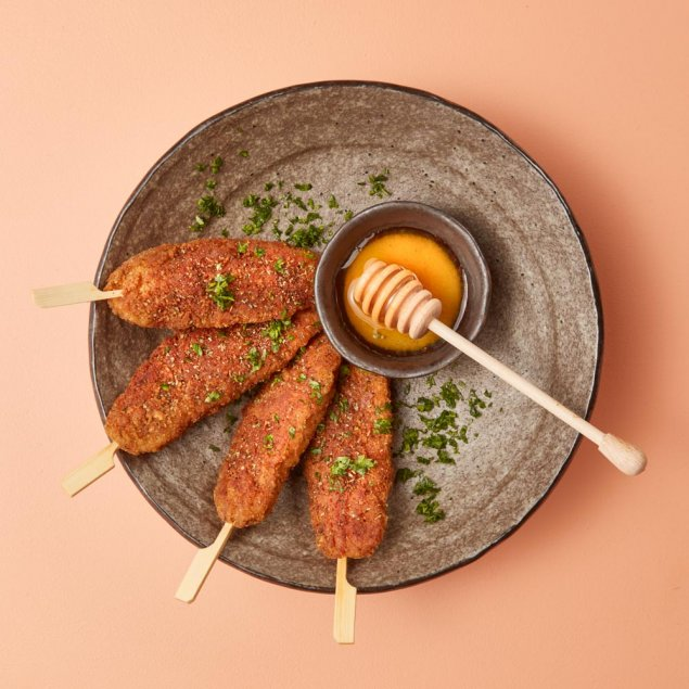 Southern Fried Chicken Skewers