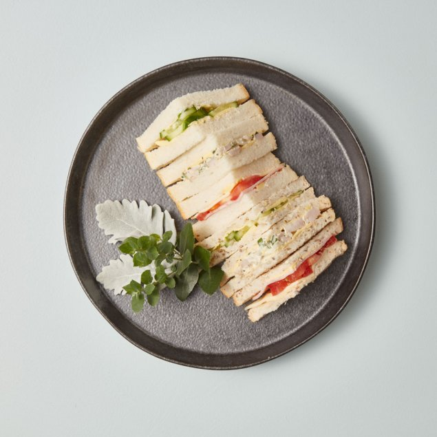 Traditional Mixed Lunch Sandwiches